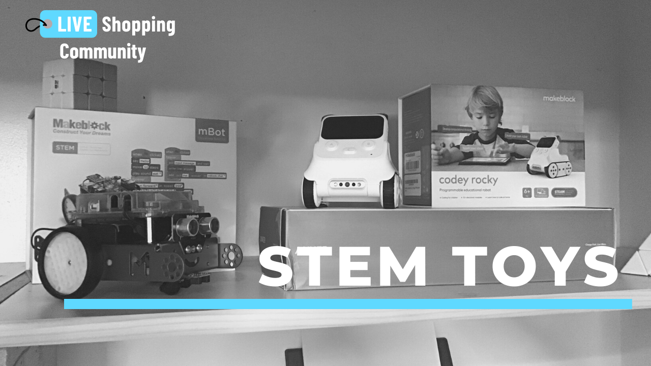 STEM Toys: Makeblock mbot and codey rocky