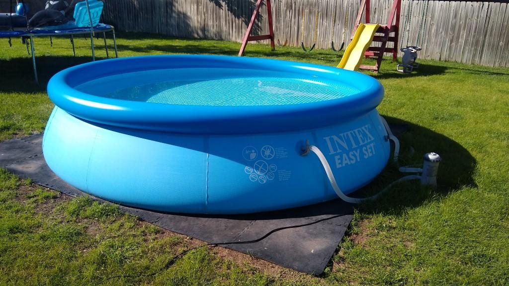 Intex 12-foot pool